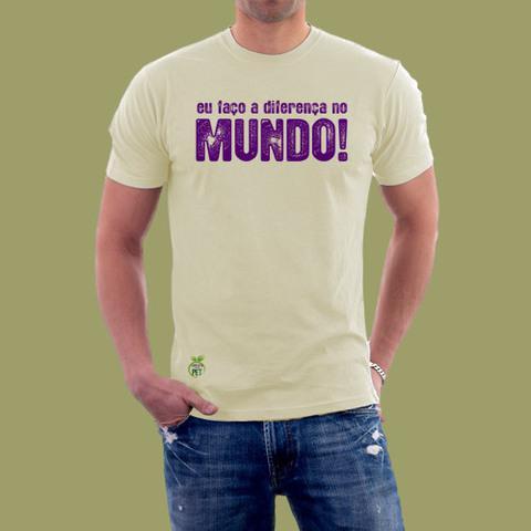 Camiseta feita de pet promocional e ecobags