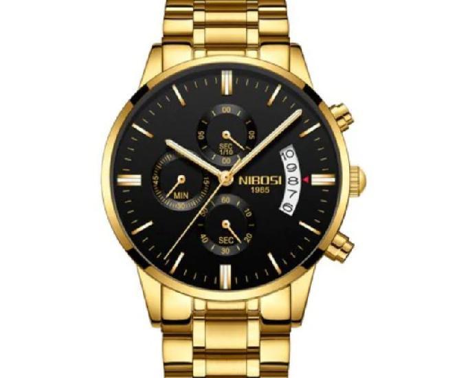 Relógio nibosi dourado 1985