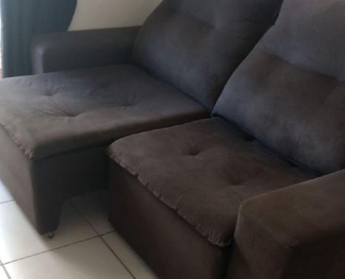 Sofá retrátil e reclinável com ótimo valor