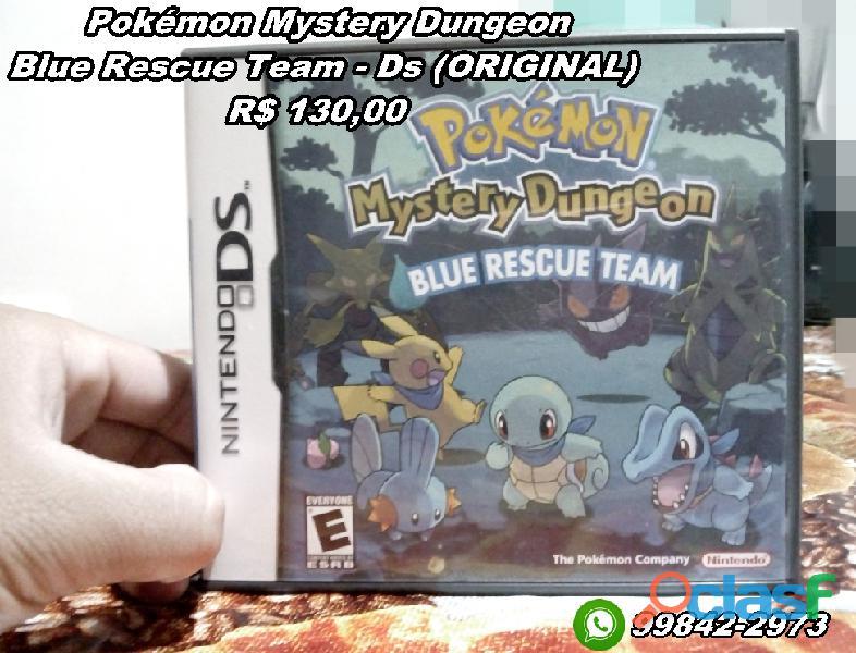 Pokémon mystery dungeon blue rescue team   ds