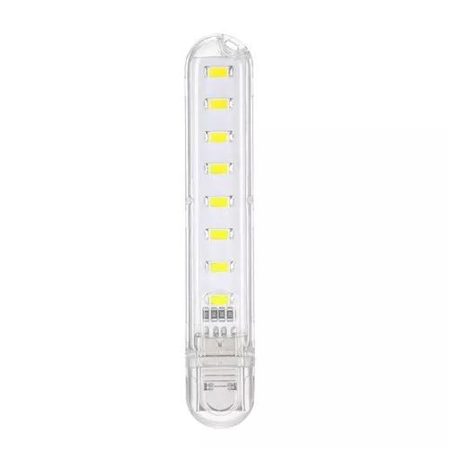 8 led mini porttil usb lampada dc 5 v acampar ilumina??o