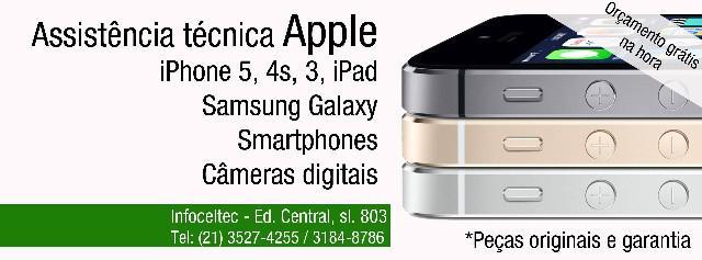 Assistência técnica apple iphone ipad ipod