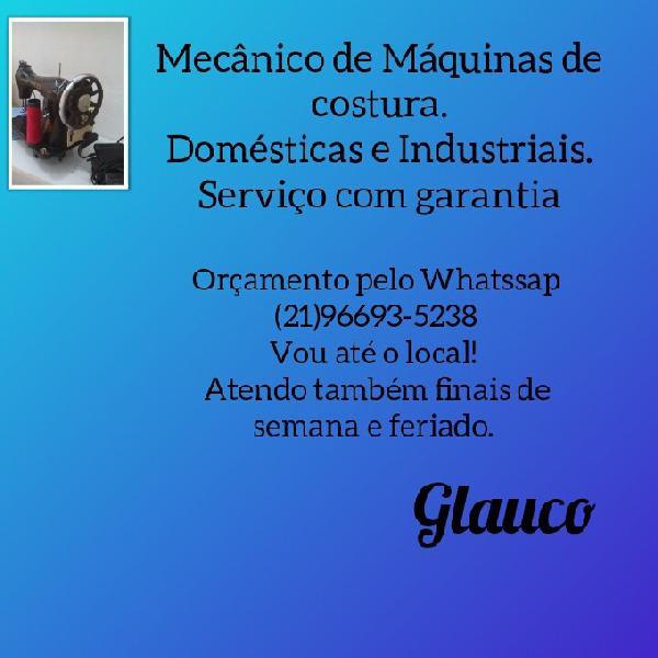 Assistência técnica de maquinas de costura