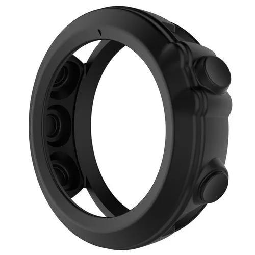 Capa case protetora silicone p/ garmin fenix 3 hr +