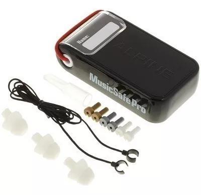 Full protetor auricular alpine musicsafe pro 1 par 3 filtros