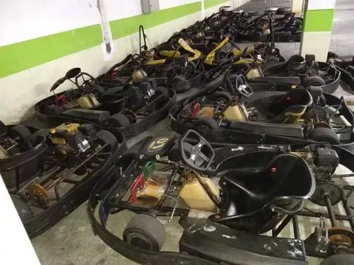 Karts metal moro indoor adulto e infantil com motor