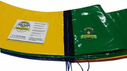 Kit proteção de molas cama elástica 3,05 m + rede