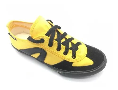 Tênis rainha vl vôlei futsal capoeira branco, amarelo