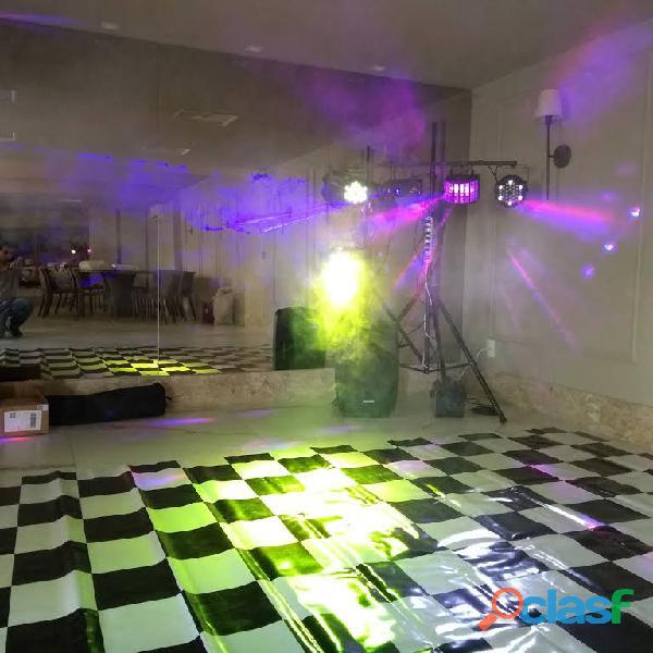 Aluguel de som e iluminação pra festas