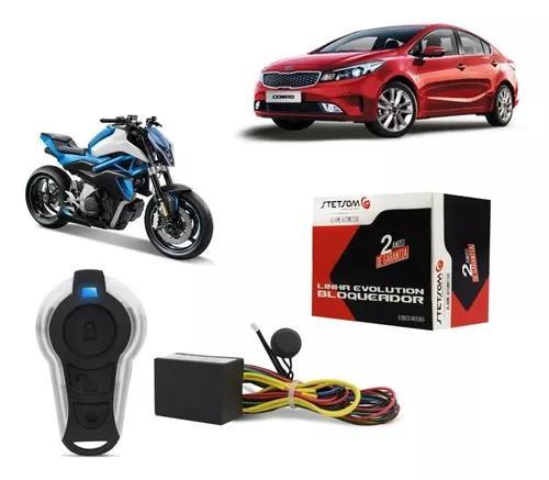 Bloqueador stetsom função presença carro / moto -