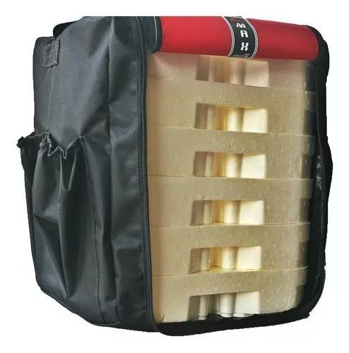 Bolsa mochila entrega marmitex 24 delivery termica s