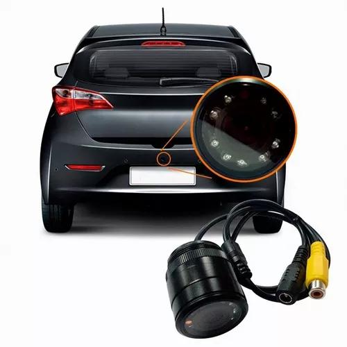 Camera ré veicular automotiva hd infravermelho visão