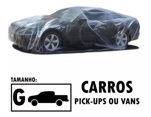 Capa descartável transparente cobrir carros pickup grande