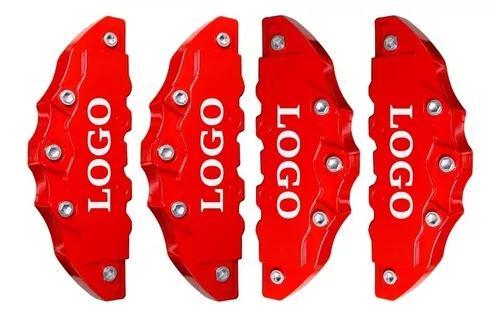 Capa pinca de freio tuning 4 peças universal + cola grátis