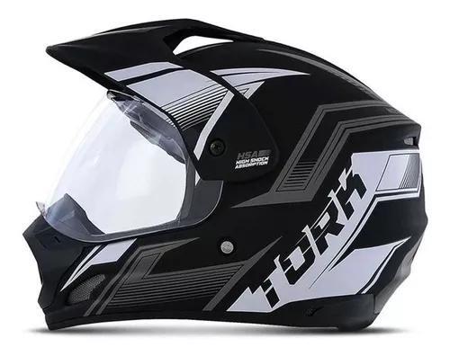 Capacete moto fechado masculino th1 new adventure pro tork