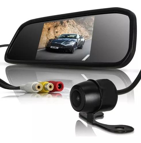 Espelho retrovisor lcd tela estacionamento câmera ré