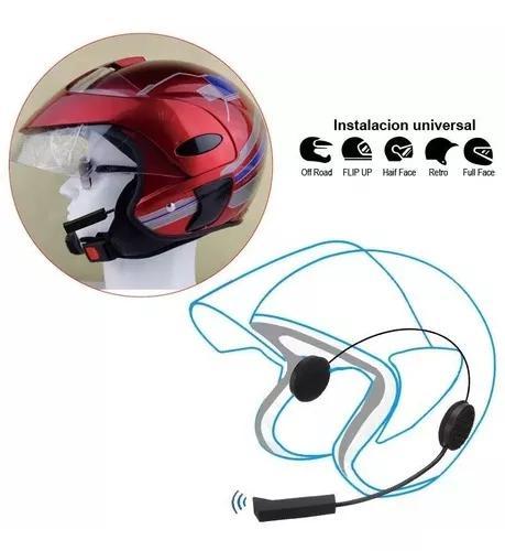 Fone ouvido capacete moto bluetooth s/ fio viva voz motoboy