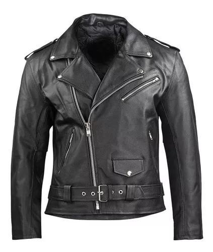 Jaqueta motoqueiro exterminador do futuro