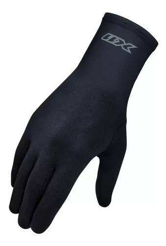 Luva segunda pele térmica x11 thermic motociclista preta