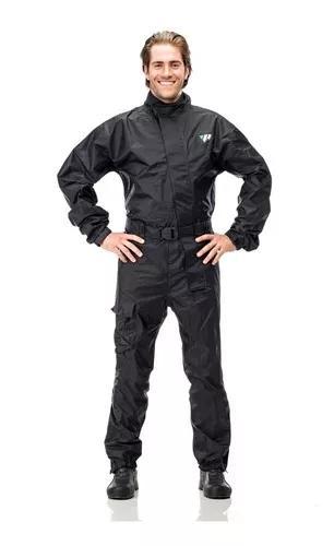 Macacão nylon motoqueiro pantaneiro 100% impermeável