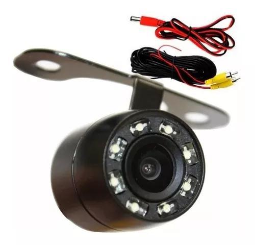 Micro camera de ré c/ visão noturna colorida tipo