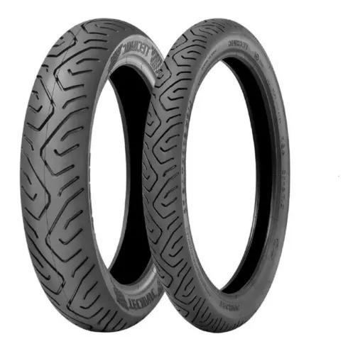 Par de pneus 100/80-17 e 130/70-17 technic twister fazer 250