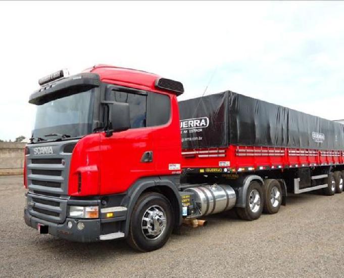 Scania 124 380 2009 com carreta ls randon