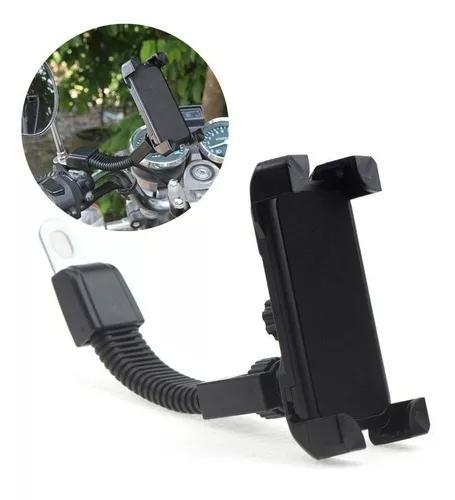 Suporte de celular gps universal moto escuter biz
