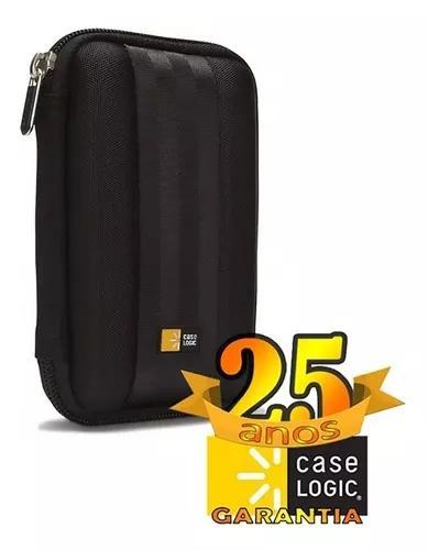 Capa case logic qhdc-101 ultra proteção porta hd externo