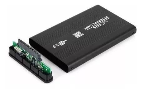 Capa case sata hd notebook 2.5 bolso usb 2 proteção