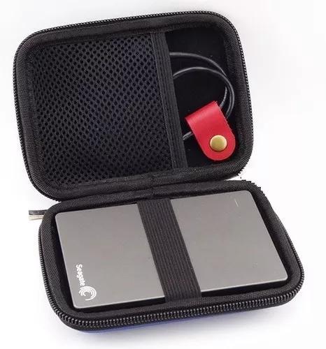 Case capa bag para hd externo, pen drive e outros
