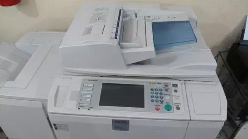 Copiadora ricoh 6501 funcionando