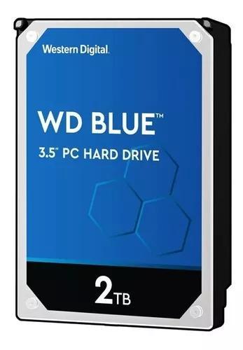 Hd 2tb wd caviar blue 5400rpm sata 6gb/s 64mb cache wd20ezex