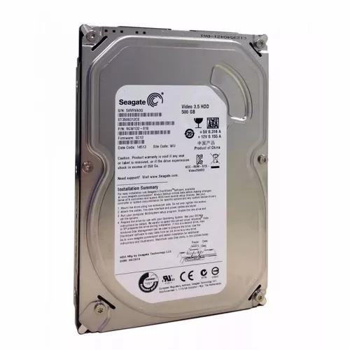 Hd de desktop 500gb sata seagate original