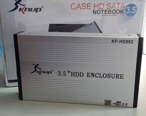 Hd externo 500gb 3.5 sata 7200rpm usb 2.0 com fonte