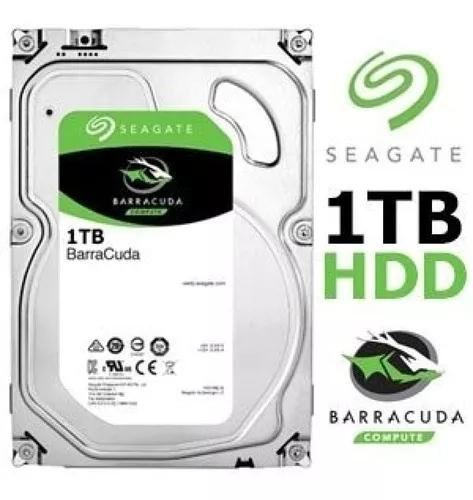 Hd seagate desktop 1tb 1000gb 7200rpm 64mb cache pronta en