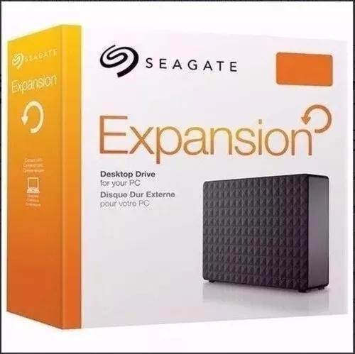 Hd seagate externo expansion 8tb usb 3.0 com fonte