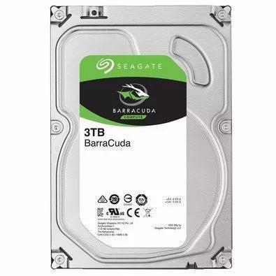 Hd seagate hdd desktop 3tb 3000gb 64mb sata3 6gb/s 5900 rpm