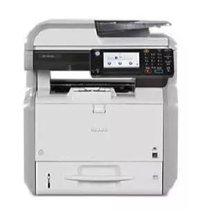Impressora multifuncional ricoh sp 4510sf mono - usada