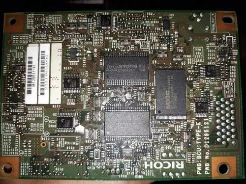 Placa (bcu) basic control unit ricoh spc 830dn (m1255110)