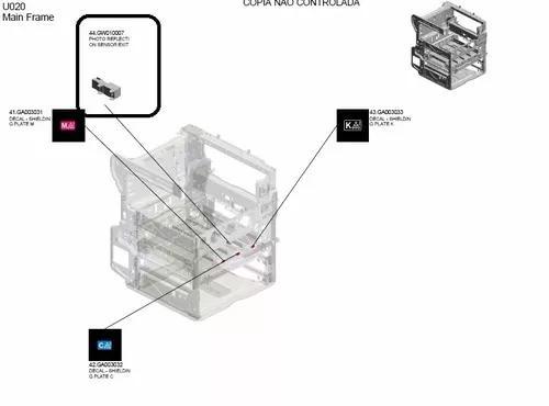 Sensor foto reflexão ricoh mpc2051 mpc2551 codigo gw010007