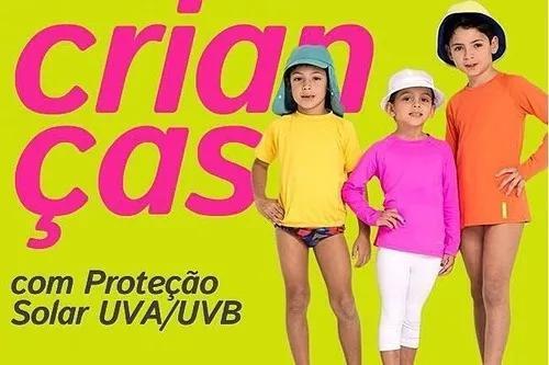 10 camisa uv roupa criança térmica infantil proteção