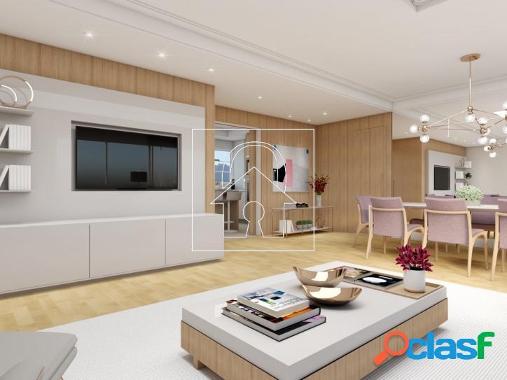 Apartamento à venda com 135m² no jardim paulista