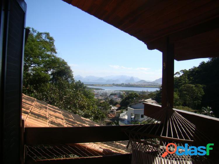 Casa com 4 quartos - casa alto padrão a venda no bairro itacoatiara - niterói, rj - ref.: tra86615