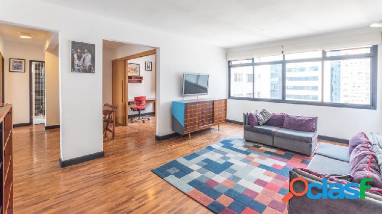 Apartamento alto padrão para aluguel no bairro cerqueira cesar - são paulo, sp - ref.: fm278