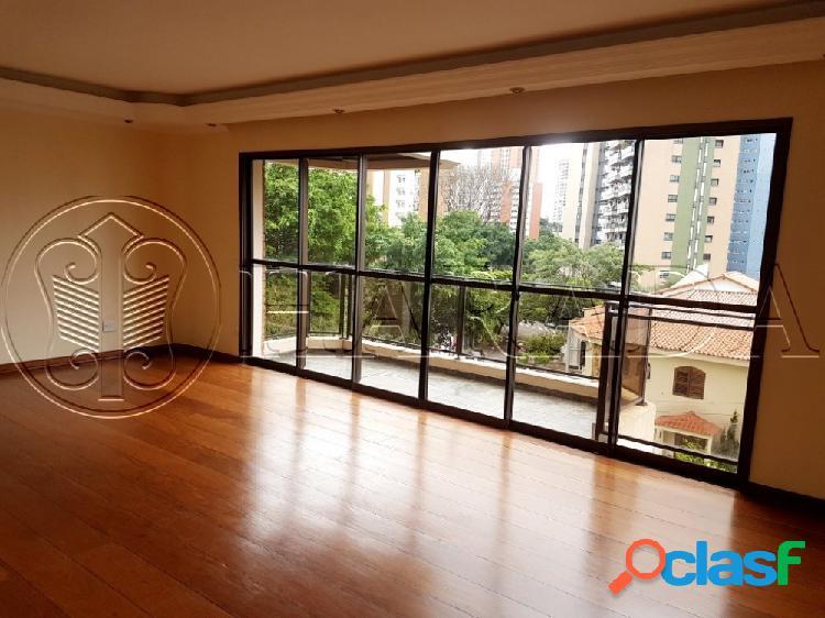 Excelente duplex 230 m2,4 dormitórios (2 suítes),3 vagas - apartamento duplex para aluguel no bairro chácara klabin - são paulo, sp - ref.: ha335a