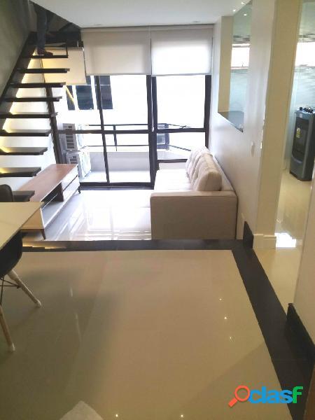 Excelente duplex 60 m2,reformado e mobiliado no trianon - apartamento duplex para aluguel no bairro cerqueira cesar - são paulo, sp - ref.: ha309