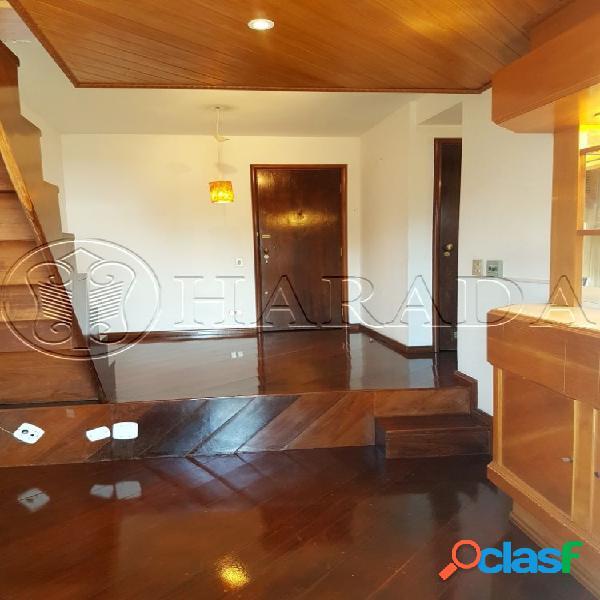 Excelente duplex semi mobiliado com vaga no trianon - apartamento duplex para aluguel no bairro cerqueira cesar - são paulo, sp - ref.: ha283