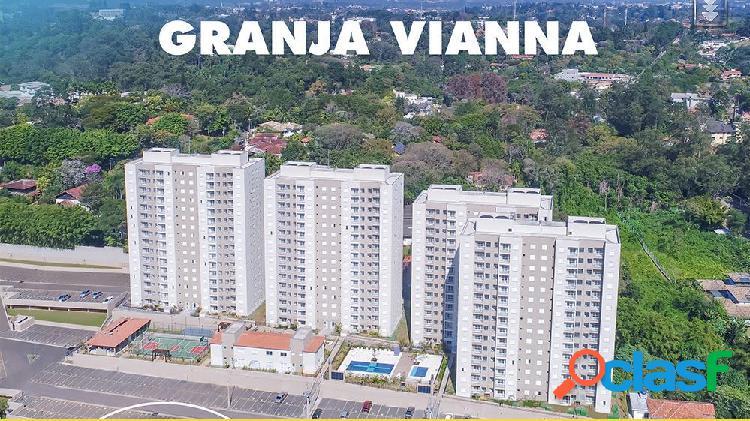 Residencial villas da granja - apartamento a venda no bairro carapicuíba - chácara granja velha, sp - ref.: rf282019
