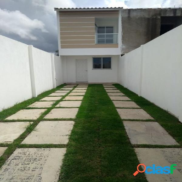 Casa no vivenda dos coqueiros - casa duplex em lançamentos no bairro vivenda dos coqueiros - campos dos goytacazes, rj - ref.: vi34223